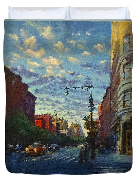 Westside Sunset No. 4 Duvet Cover