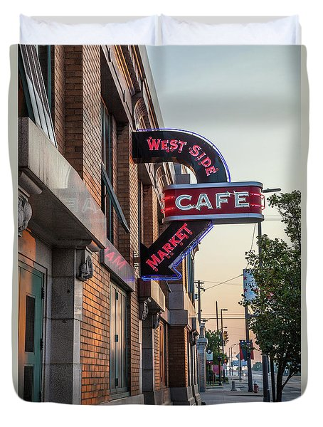 Westsidemarketcafe Duvet Cover