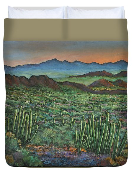 Westward Duvet Cover by Johnathan Harris