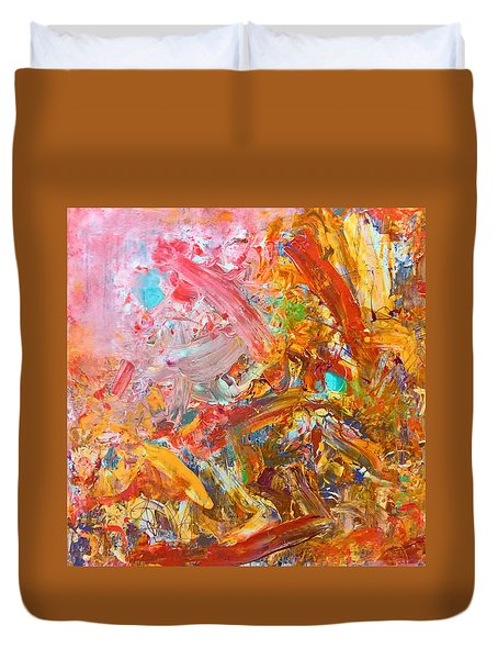 Wet Abstract #91517 Duvet Cover