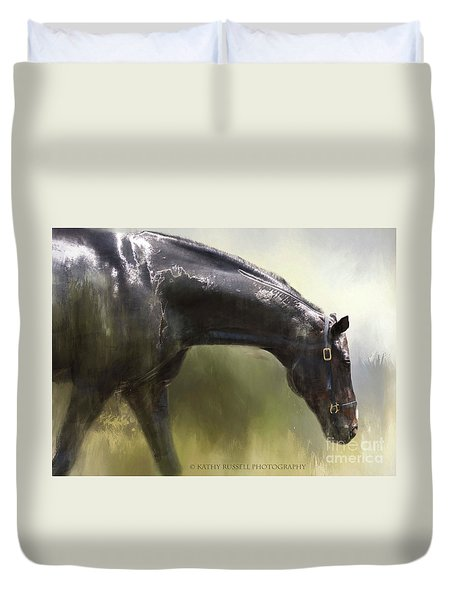 Wet Bay Duvet Cover