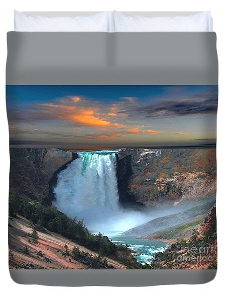 Wet Beauty Duvet Cover
