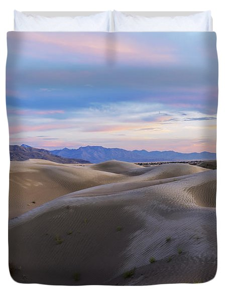 Wet Dunes Duvet Cover