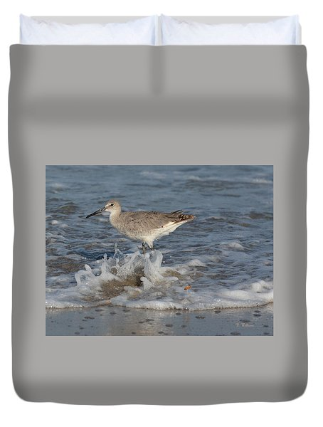 Wet Feet Duvet Cover