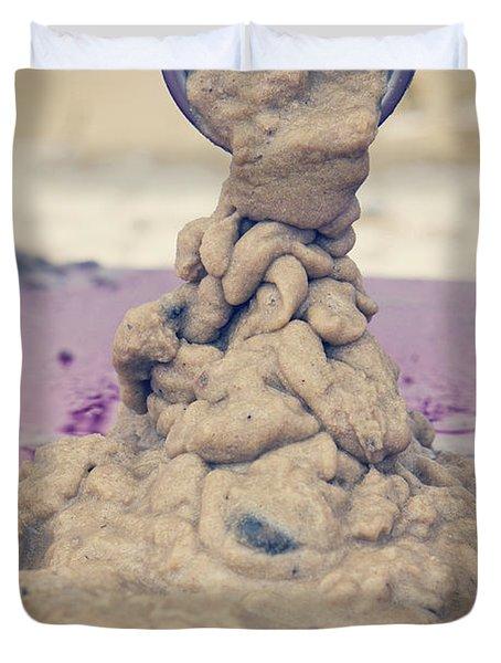 Wet Sand Drain Duvet Cover