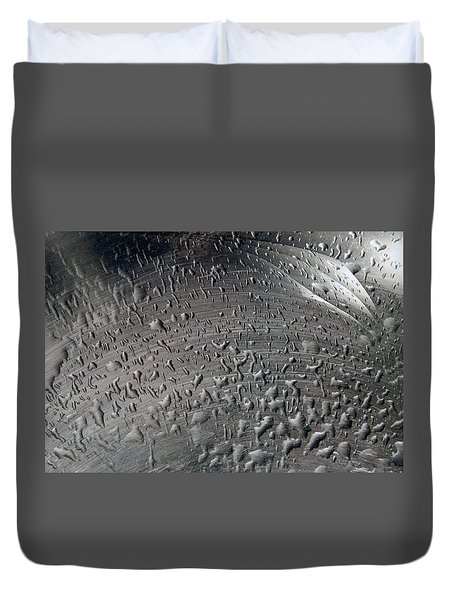 Wet Steel Duvet Cover by Keith Armstrong