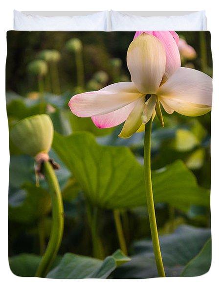 Wetland Flowers Duvet Cover