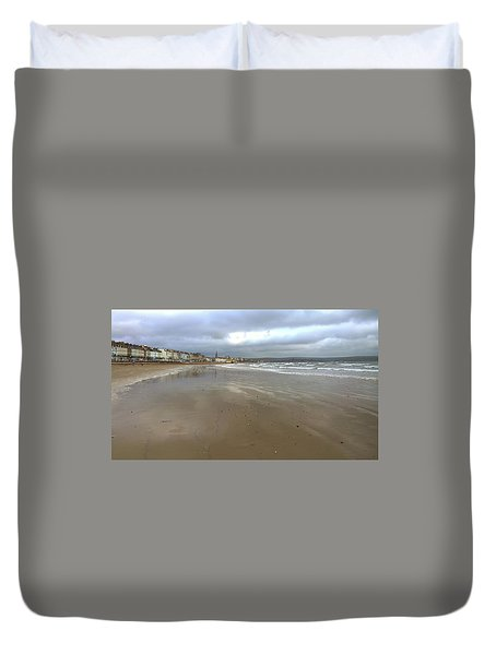 Weymouth Morning Duvet Cover