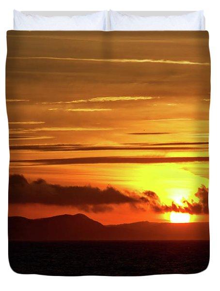Weymouth Sunrise Duvet Cover by Stephen Melia
