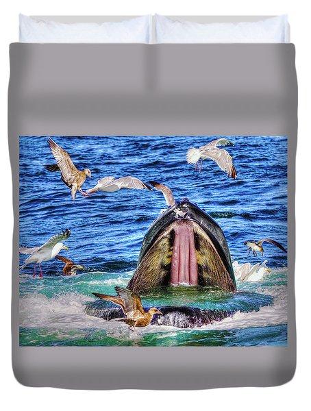 Whale 279 Duvet Cover