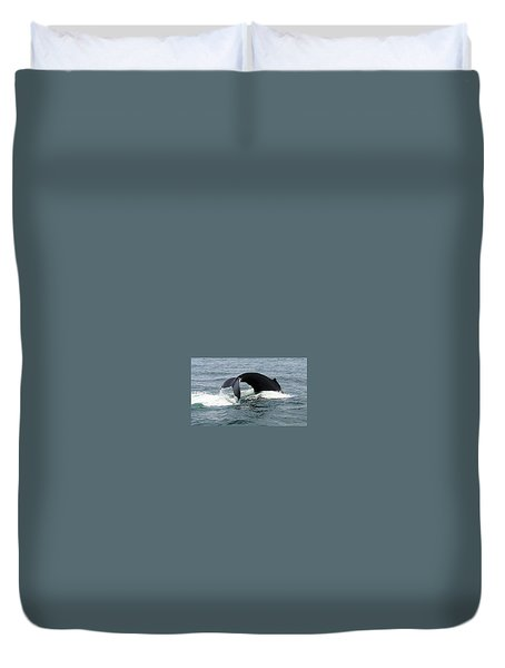 Whale Of A Tail Duvet Cover