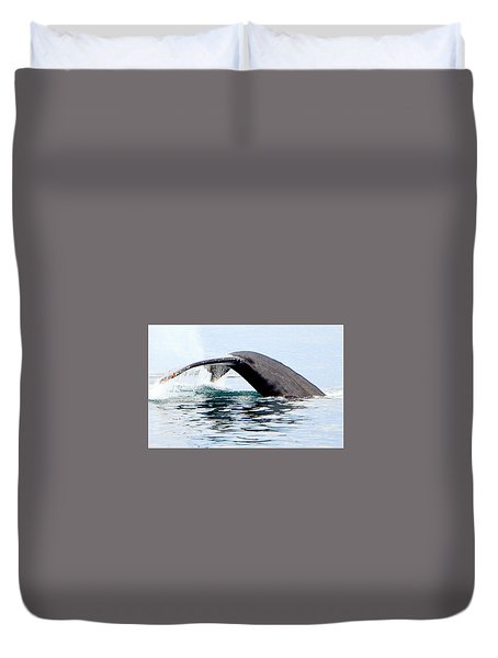 Whale Watch Moss Landing Series 24 Duvet Cover