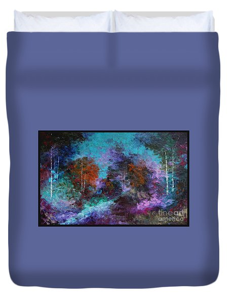 What A Colorful World Duvet Cover by Steven Lebron Langston
