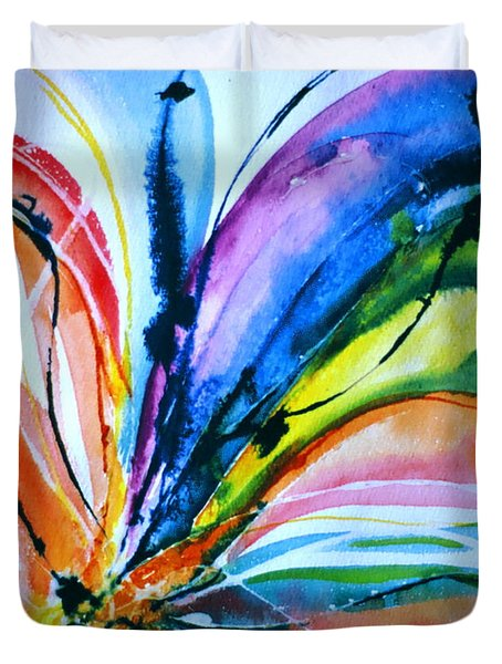 What A Fly Dreams Duvet Cover