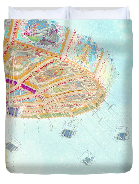 What A Ride Duvet Cover by Amy Tyler