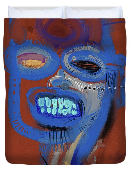 What A Smile Duvet Cover