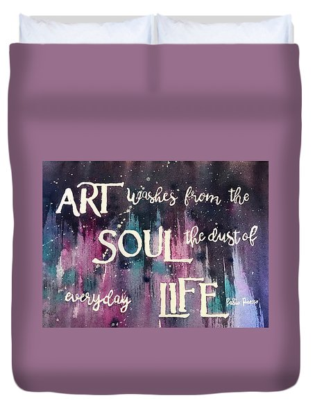 What Art Does Duvet Cover