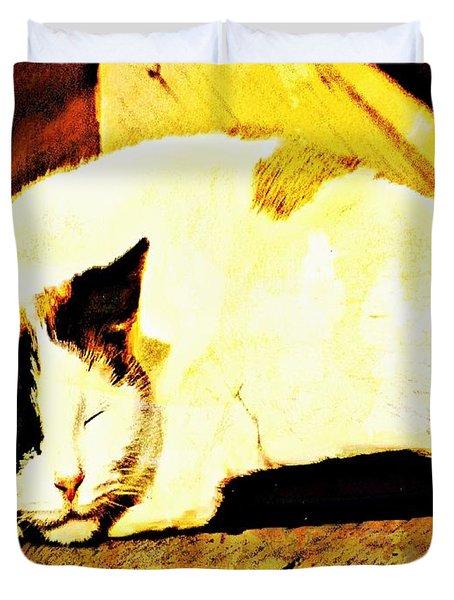 What Do Cats Dream Of Duvet Cover