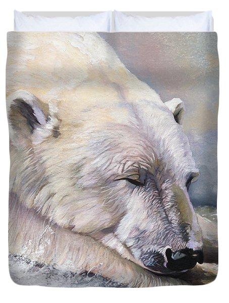 What Do Polar Bears Dream Of Duvet Cover