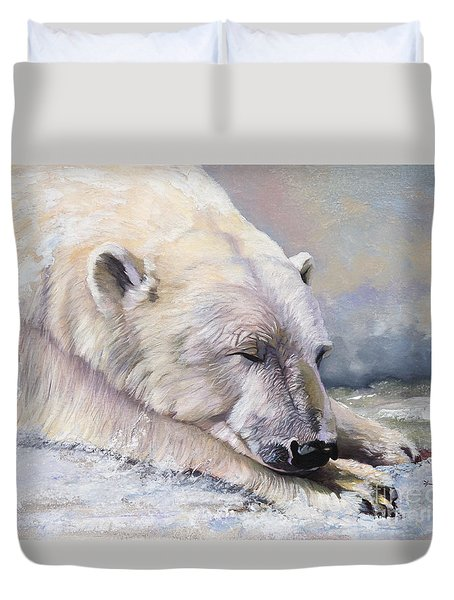 What Do Polar Bears Dream Of Duvet Cover