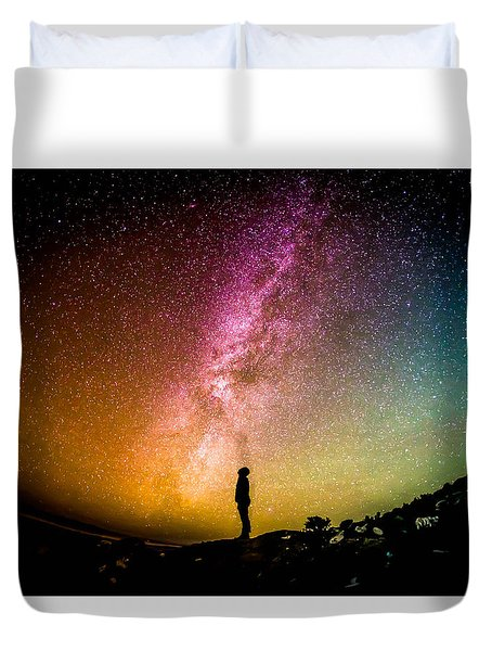 What I Saw Duvet Cover