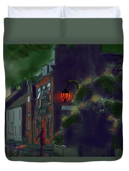 What If Grimshaw Came To Kilham Duvet Cover
