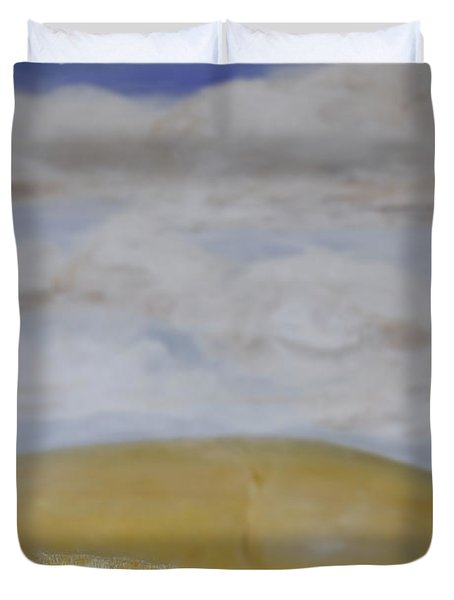 What Is Beyond? Duvet Cover