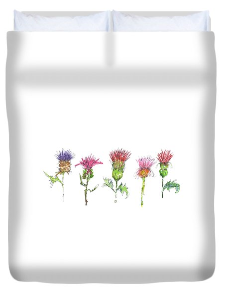 What Is It About A Thistle Fl006 Duvet Cover