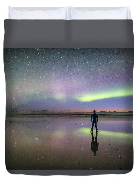 What Is Up And Down? Duvet Cover