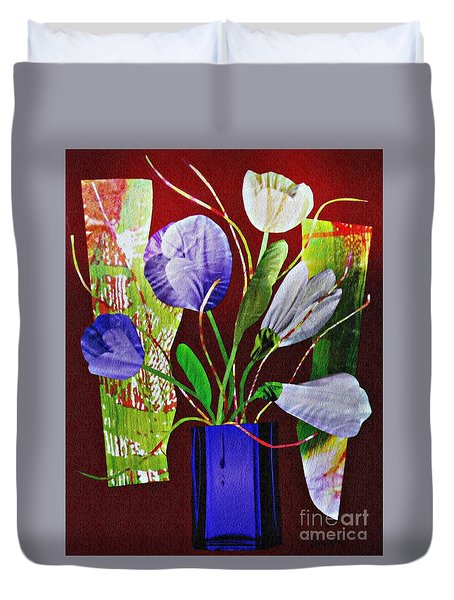 What Marie Left Behind Duvet Cover by Sarah Loft