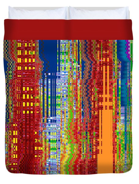 What On Earth Metropolis Duvet Cover