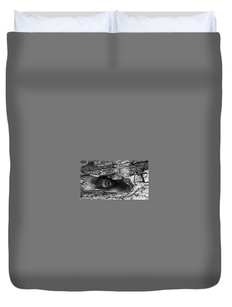 What The Forest Sees Duvet Cover