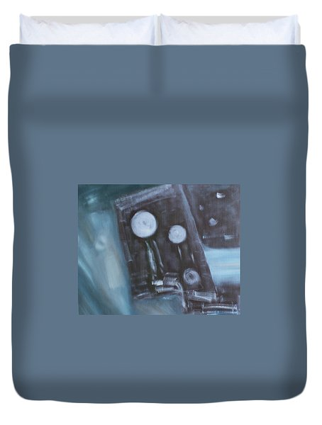 What To Say? Duvet Cover