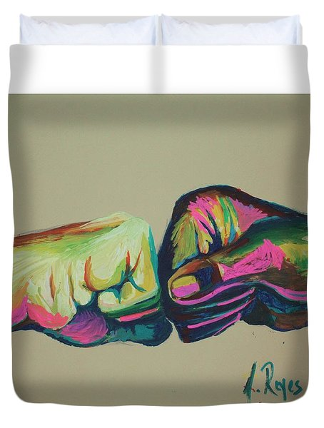 What Up Bruh Duvet Cover