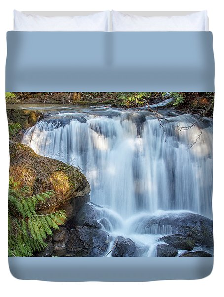 Whatcome Falls Duvet Cover