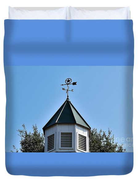 Duvet Cover featuring the photograph Whatever Direction You Take - Reach For The Sky by Ray Shrewsberry