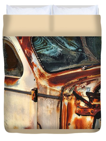 What's Left Duvet Cover