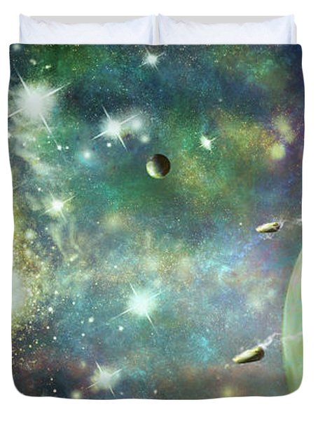 What's Out There Duvet Cover