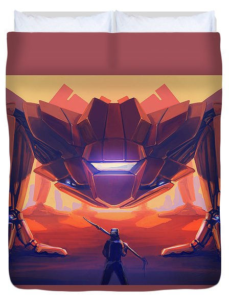 What's The Password? Duvet Cover