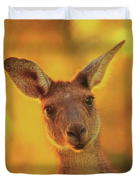 What's Up, Yanchep National Park Duvet Cover