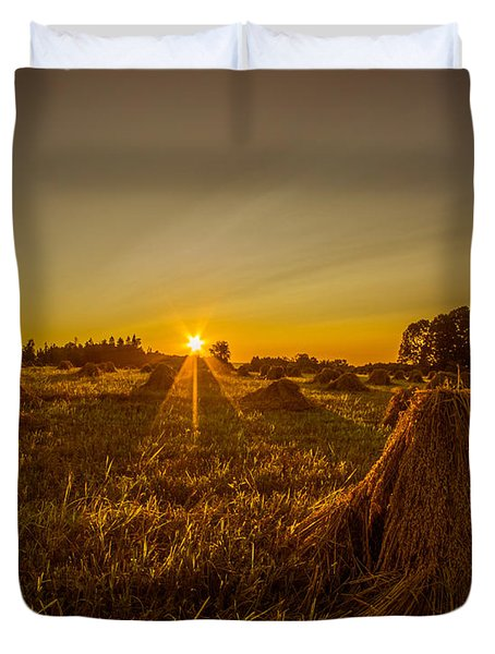 Wheat Shocks Duvet Cover