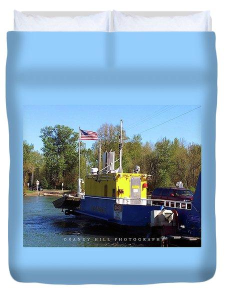 Wheatland Ferry Duvet Cover
