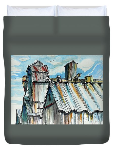 Wheatland High Rise Duvet Cover by Terry Banderas
