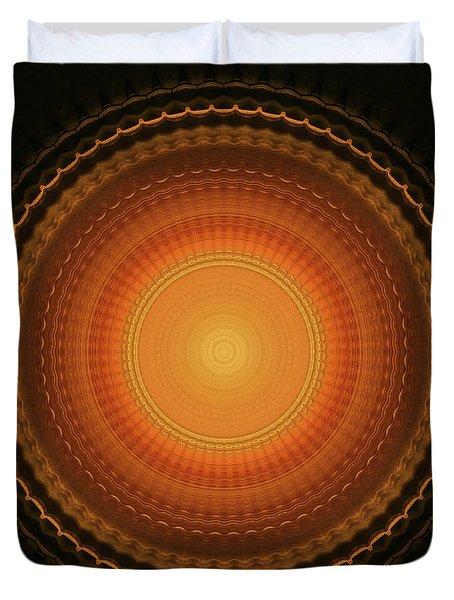 Wheel Kaleidoscope Duvet Cover