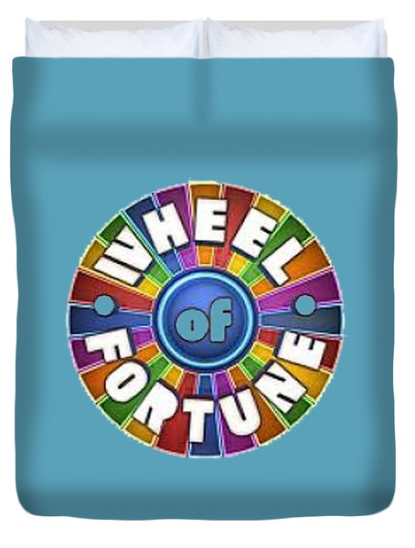 Wheel Of Fortune T-shirt Duvet Cover