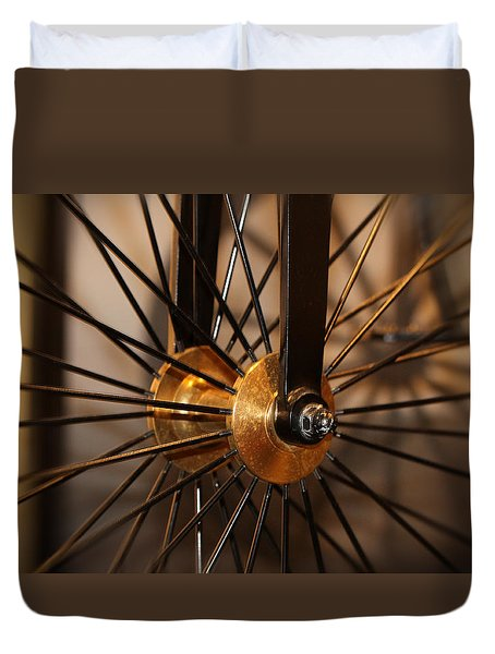 Wheel Spokes  Duvet Cover