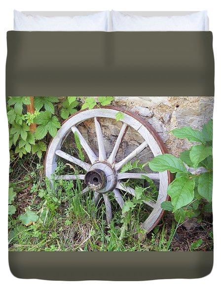 Wheel Walk Duvet Cover by Patrick Murphy