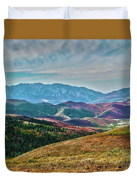 Wheeler Peak Duvet Cover