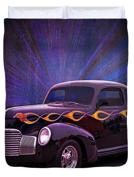 Wheels Of Dreams 2b Duvet Cover