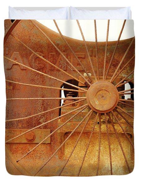 Wheels Of Progress #2 Duvet Cover